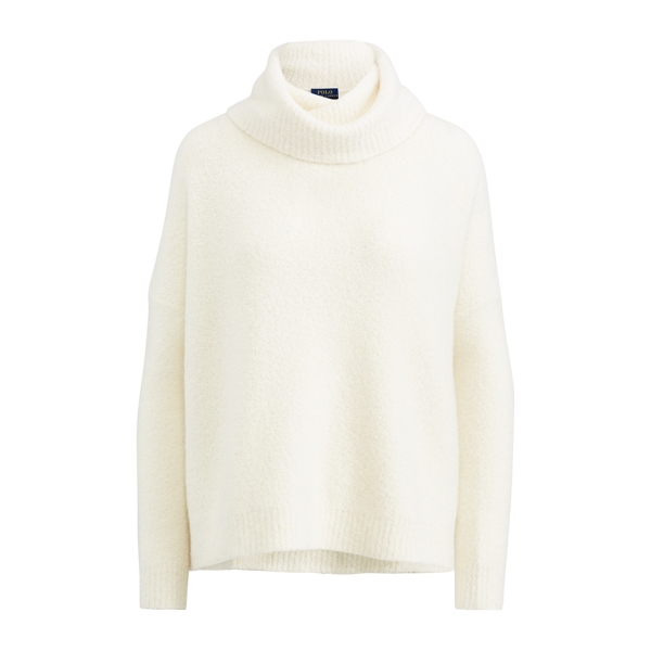 Ralph Lauren Cashmere Turtleneck Sweater Cream Xl
