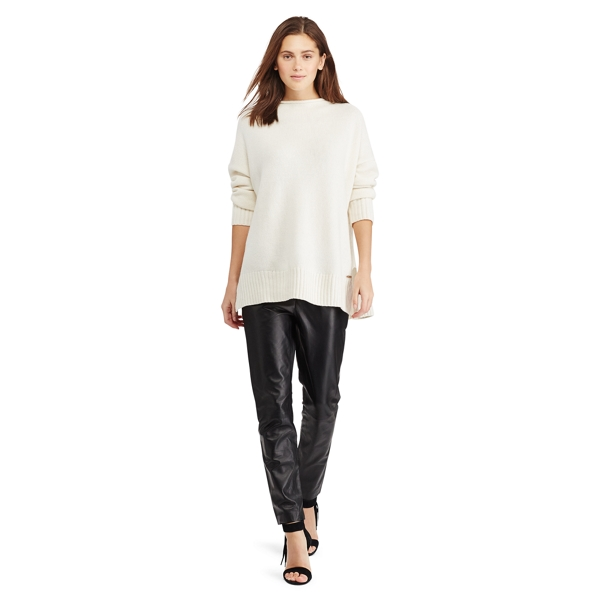 Ralph Lauren Wool-Cashmere Sweater Cream S