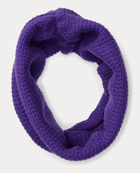 Ribbed Cashmere Snood