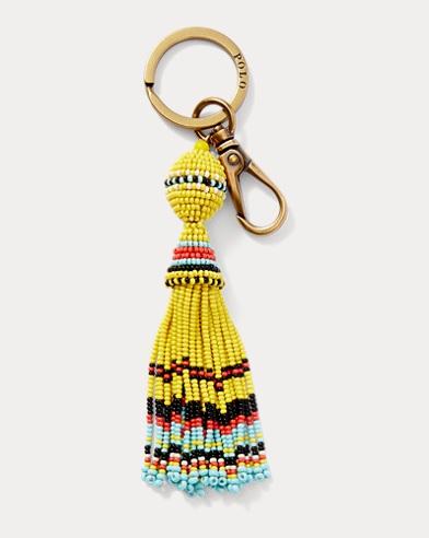 Beaded Tassel Key Fob
