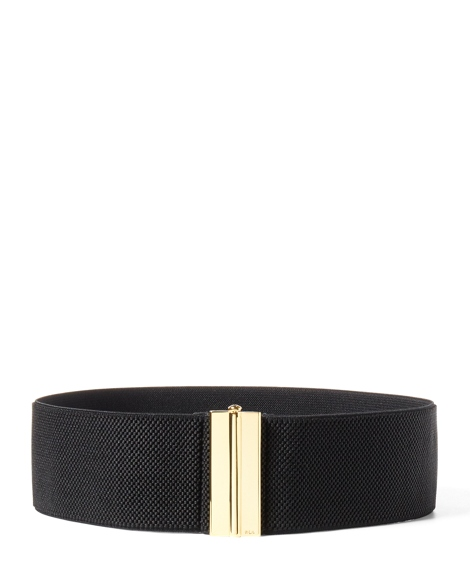 Wide Interlocking Stretch Belt