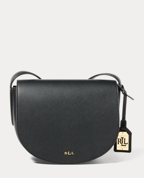 Leather Mini Caley Saddle Bag