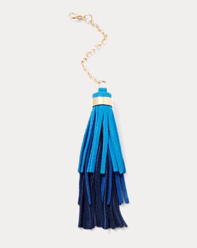 Ombré Tasseled Handbag Charm