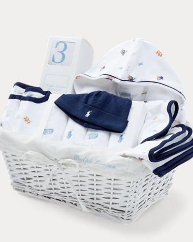 Polo Bear 11-Piece Gift Basket