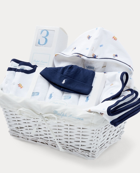 Polo Bear 11-Piece Gift Basket