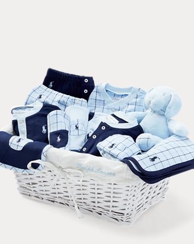 Plaid 12-Piece Gift Basket