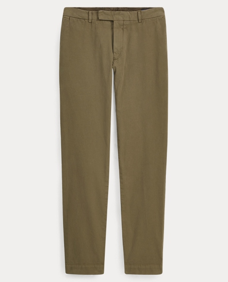 Tailored Slim Fit Cotton Chino