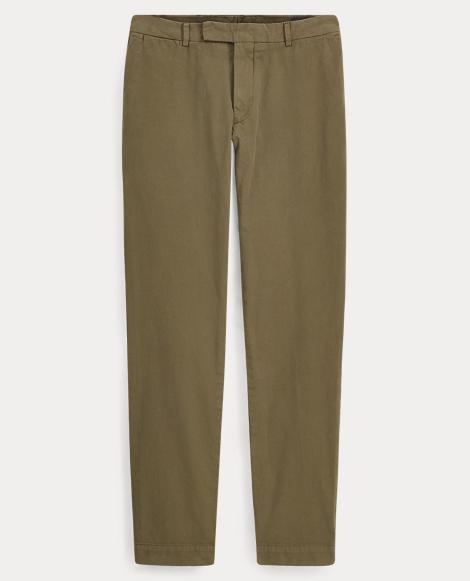 Tailored Slim Fit Cotton Chino