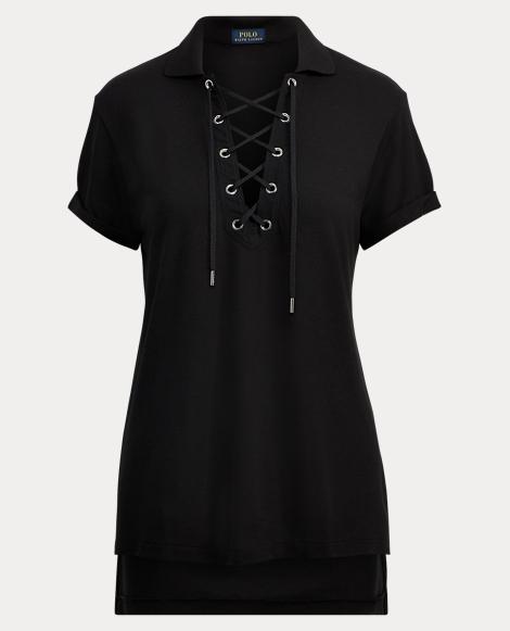 Soft Touch Mesh Polo Shirt