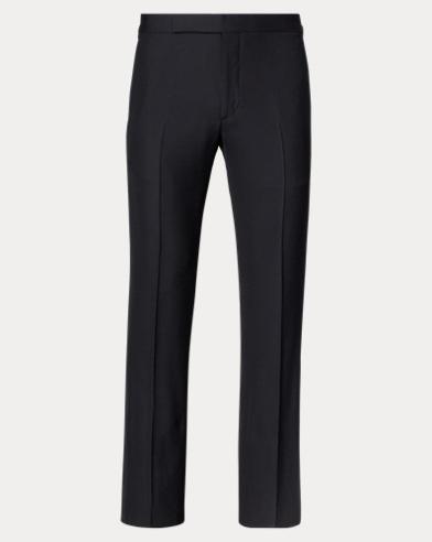 Slim Barathea Tuxedo Trouser