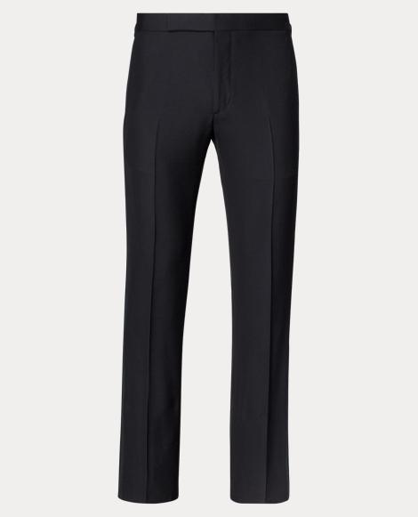 Slim Wool Tuxedo Trouser
