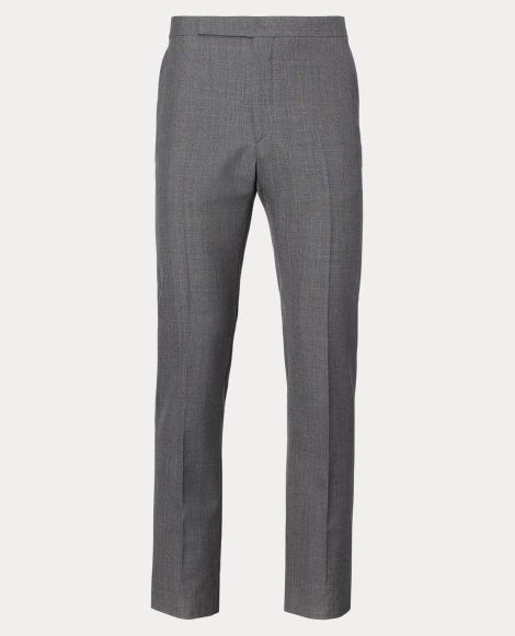 Slim Fit Wool Fresco Trouser