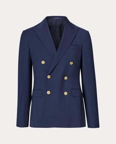 Slim Fit Wool Suit Jacket