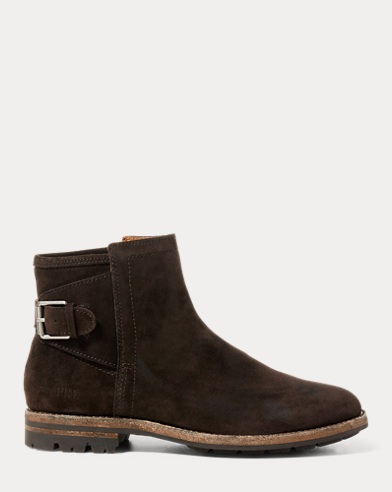 Myles Distressed Suede Boot