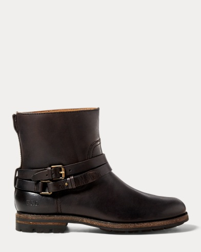 Mersey Leather Moto Boot