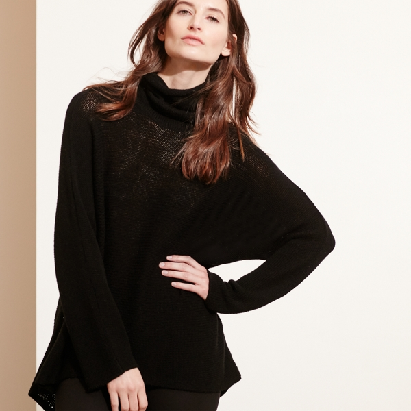 Ralph Lauren Wool-Cashmere Sweater Black Sp
