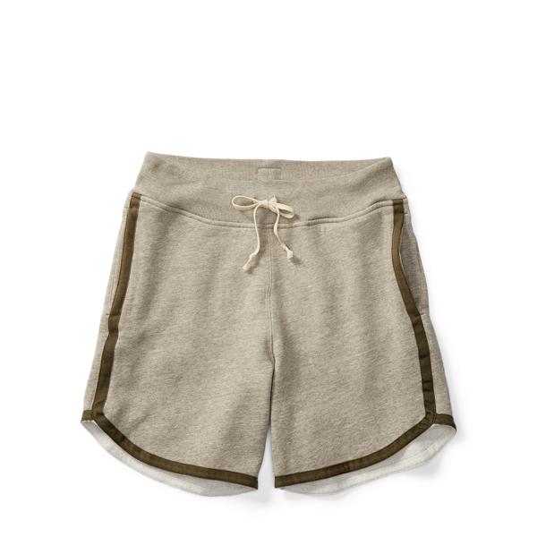 Ralph Lauren Cotton-Blend-Fleece Short Camp Heather Xs