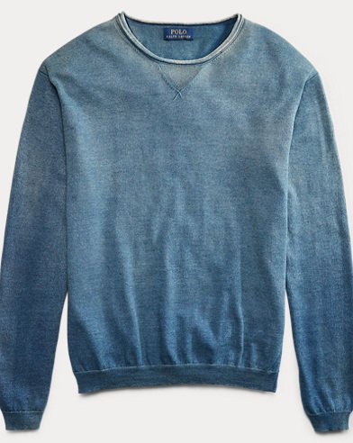 Cotton Crewneck Sweater