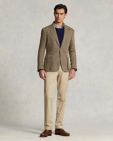 Stretch Slim Fit Cotton Chino