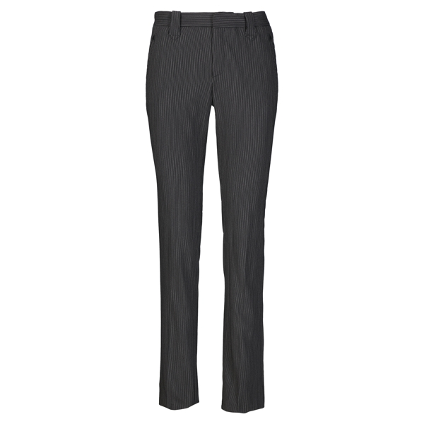 Ralph Lauren Walker Pinstriped Wool Pant Black/Tan 4