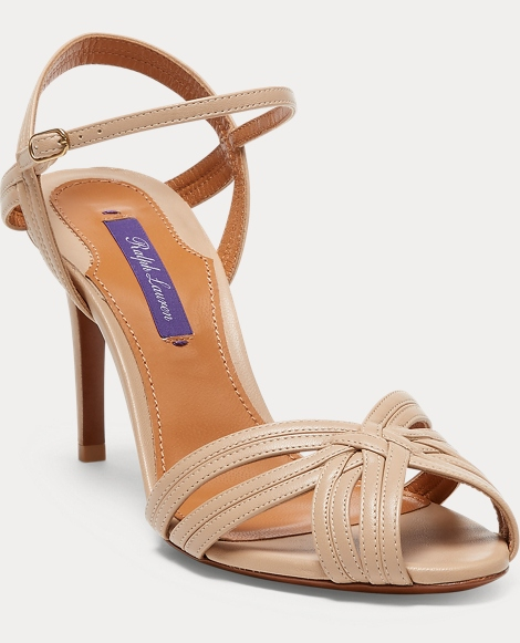Astraia Nappa Leather Sandal