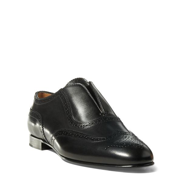 Ralph Lauren Quinby Calfskin Oxford Black 39.5