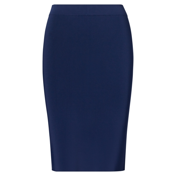 Ralph Lauren Stretch Pencil Skirt Navy Xs