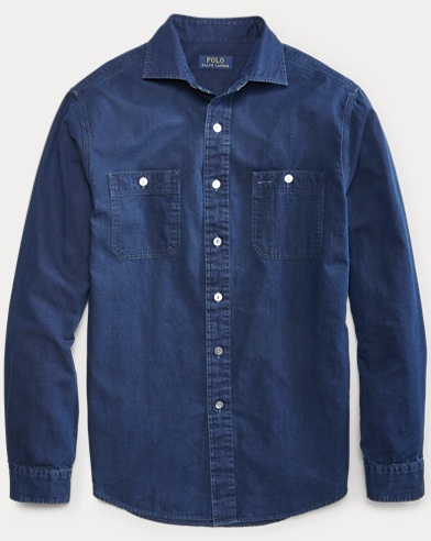 Classic Fit Chambray Shirt
