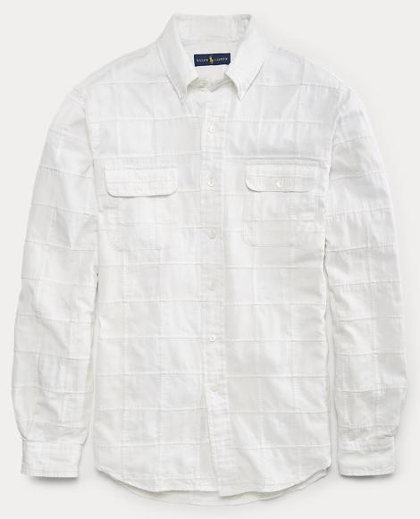 Classic Fit Cotton-Silk Shirt