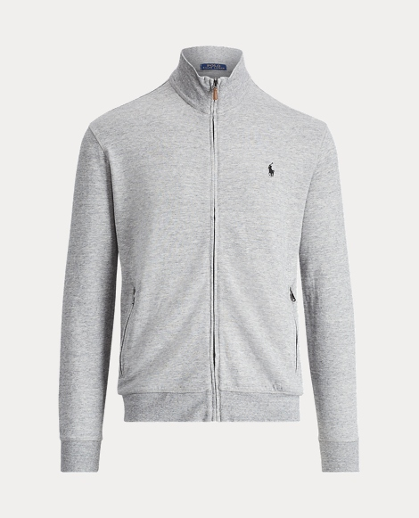 Cotton-Blend Track Jacket
