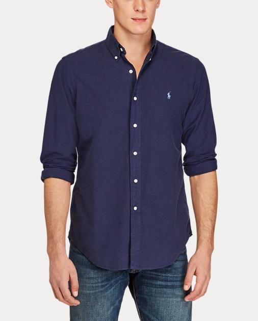 produt-image-2.0. produt-image-3.0. Men Clothing Casual Shirts Classic Fit Cotton  Shirt. Polo Ralph Lauren
