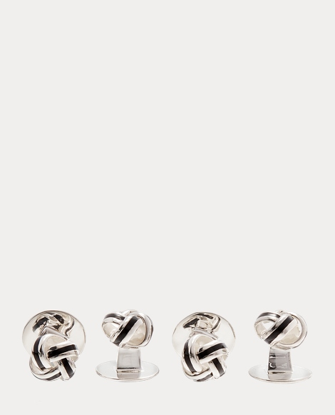 Sterling Knot Cuff Links