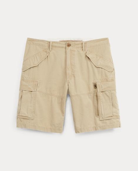 Classic Fit Cotton Cargo Short