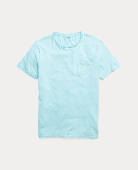Cotton Jersey Pocket T-Shirt
