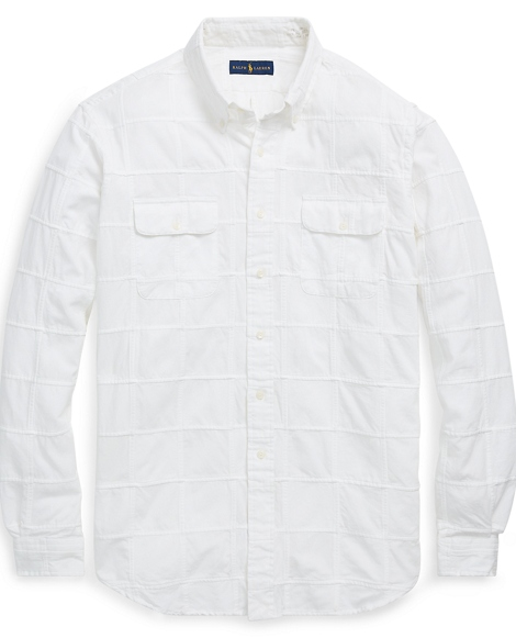 Classic Fit Cotton-Silk Shirt