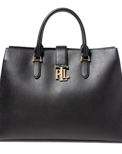 Pebbled Leather Brigitte Tote