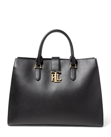 Pebbled Leather Brigitte Tote