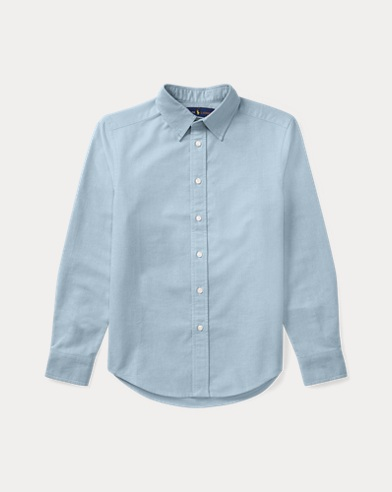 Boys' Cotton Oxford Shirt