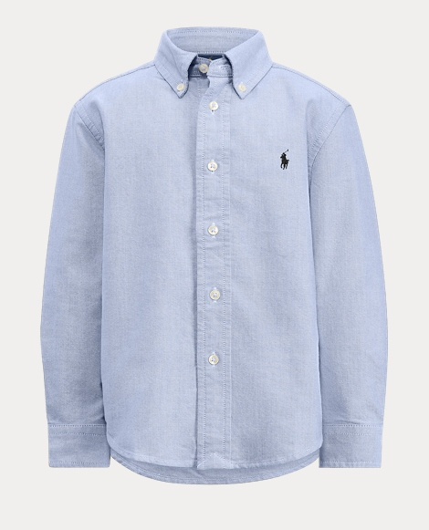Boys' Cotton Oxford Shirt