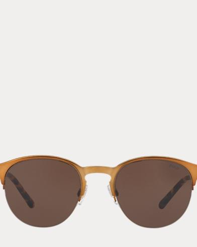 Engraved Round Sunglasses