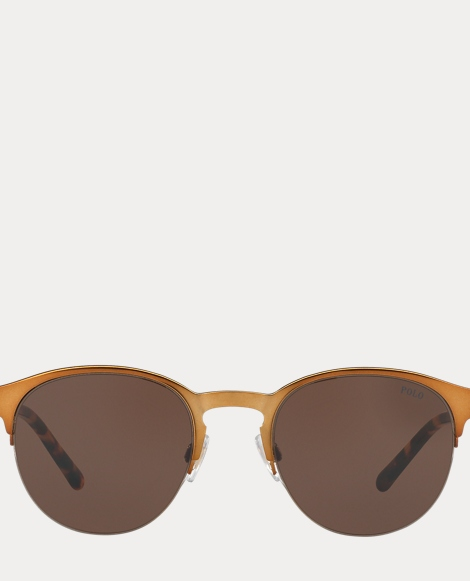 Engraved Round Sunglasses