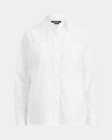 Broadcloth Button-Down Shirt