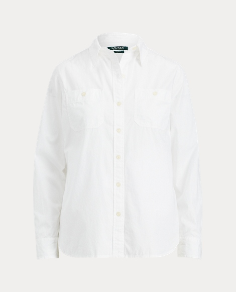 Broadcloth Button-Down Shirt