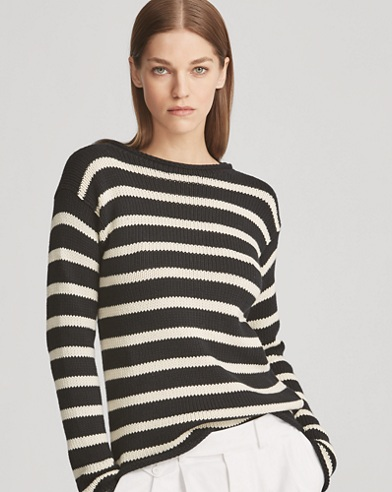 Striped Rollneck Sweater