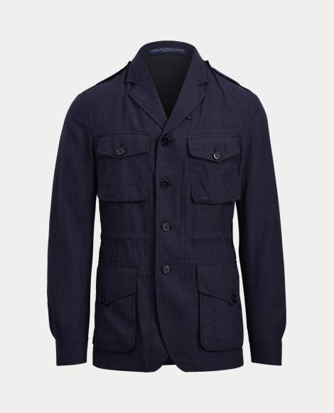Linen-Wool Field Sport Coat