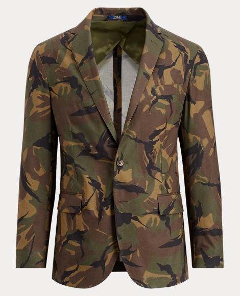 Morgan Camo Cotton Sport Coat