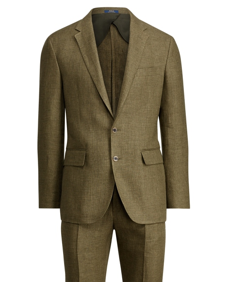 Morgan Basket-Weave Linen Suit