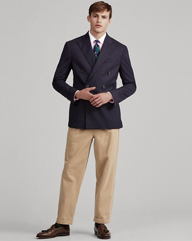 Polo Stretch Wool Blazer