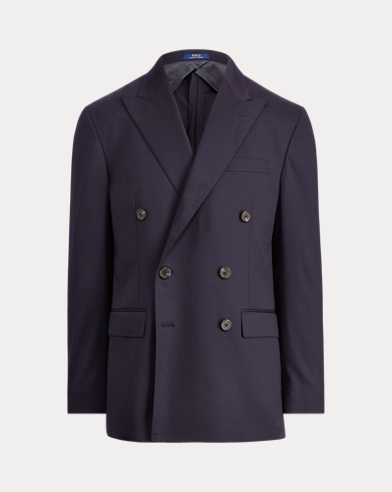 Polo Stretch Wool Sport Coat