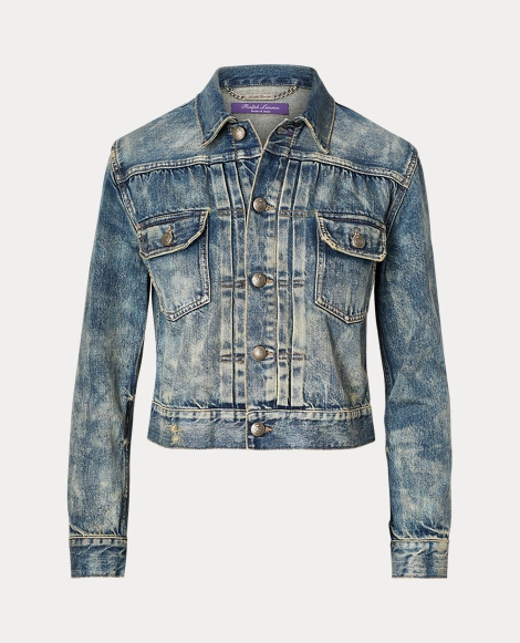 Perry Cropped Trucker Jacket